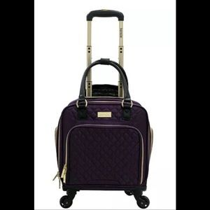 "Kensie Luggage 16"" Rolling Spinner Business Caseb"
